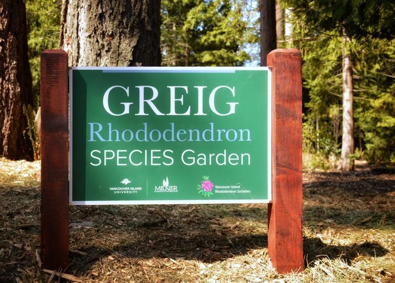 Greig Rhododendron Species Garden